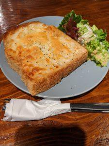 チーズトースト¥464+8%税
